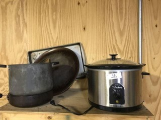 Crockpot & Miscellaneous Kitchenwares