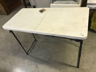4' Lifetime Folding Table