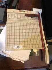 Paper Cutter & Miscellaneous Office Products