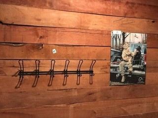 Ducks Unlimited Sign & Coat Rack