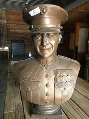 Marine Officer Bust
