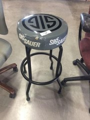 Sig Sauer Advertising Stool