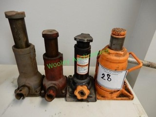 Four Bottle Jacks in Group