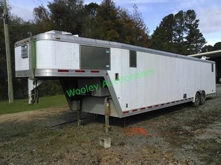 Featherlite 4941, 40 foot Enclosed Car Hauler with