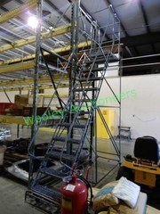 Cotterman Moveable Warehouse Stair