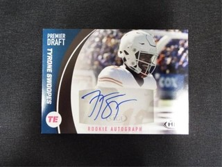 Tyrone Swoopes Premier Draft Rookie Football Card