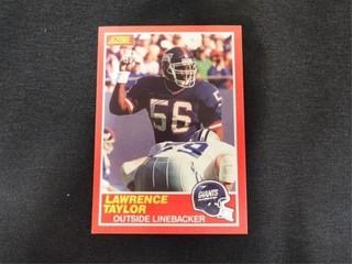 lawrence Taylor Football Trading Card