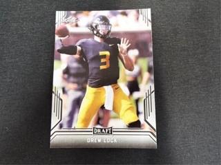 Drew lock Draft Football Trading Card
