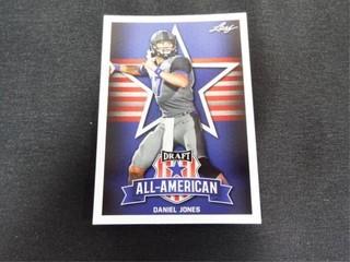 Daniel Jones Draft All American Football Card