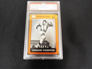 leonard Thompson 1991 Collegiate Collection Card