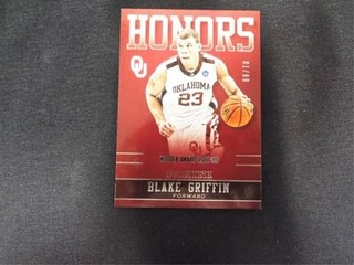 Blake Griffin Honors  01 99 Basketball Card