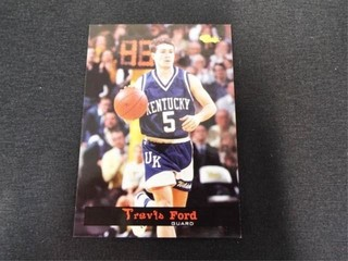 Travis Ford Basketball Trading Card