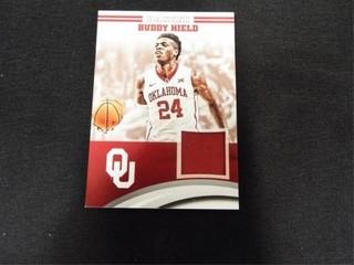 Buddy Hield Player Worn Material Basketball Card