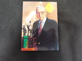 John R Wooden Basketball Trading Card