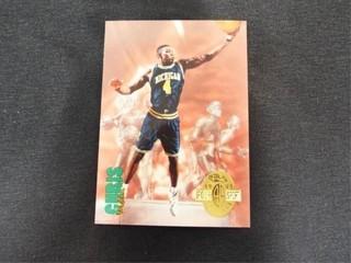 Chris Webber Basketball Trading Card