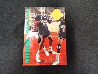 Alonzo Mourning Classic Rookie Basketball Card