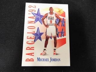 Michael Jordan Barcelona  92 Basketball Card