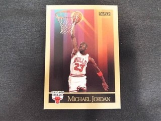 Michael Jordan Basketball Trading Card