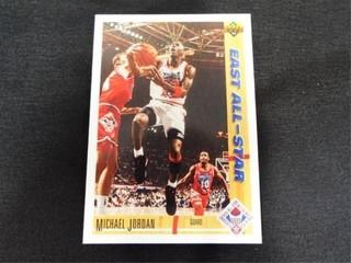 Michael Jordan 91 92 East All Star Basketball Card