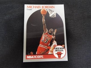 Michael Jordan NBA Basketball Trading Card