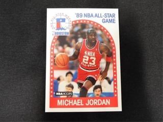 Michael Jordan  89 NBA All Star Game Card