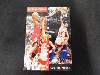 Michael Jordan   Scottie Pippen Scoring Threats