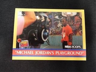 Michael Jordan s Playground Inside Stuff Card