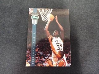 Shaquille O Neal Draft Pick Rookie Basketball Card