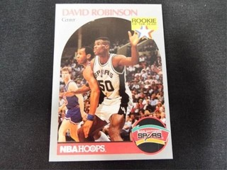 David Robinson Rookie of the Year Trading Card