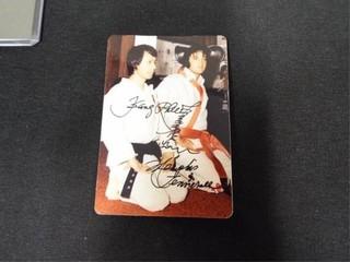 Elvis Presley   Kang Rhee Signed Photo