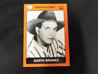 Garth Brooks Oklahoma State Collegiate Card