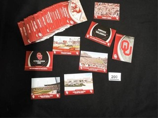 University of Oklahoma Collegiate Collection Cards