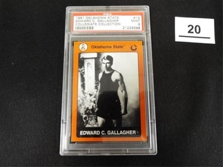 1991 OK State Collegiate Collection Ed Gallagher