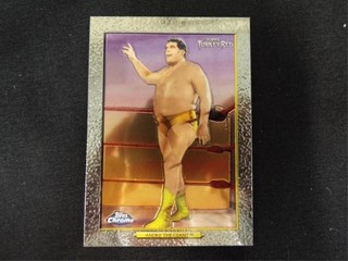 Andre the Giant WWE Trading Card Topps Turkey Red