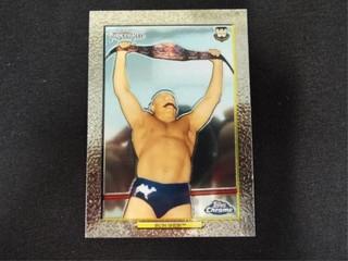 Iron Sheik WWE Trading Card Topps Turkey Red