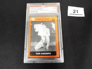 1991 OK State Collegiate Collection Tom Chesbro