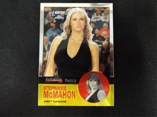 Stephanie McMahon WW Heritage McMahon Family Card