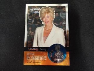 linda McMahon WW Heritage McMahon Family Card