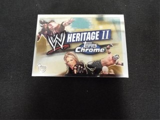WW Heritage II Checklist Trading Card