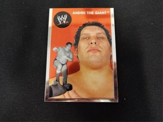 Andre the Giant WW Heritage legend Trading Card