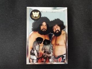 The Wild Samoans WW Heritage legend Trading Card