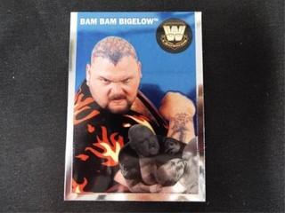 Bam Bam Bigelow WW Heritage legend Trading Card