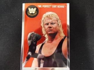 Mr Perfect  Curt Henning WW Heritage legend Card