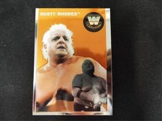 Dusty Rhodes WW Heritage legend Trading Card