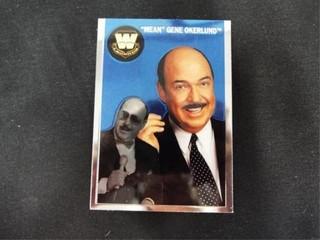 Mean  Gene Okerlund WW Heritage legend Card