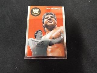 Don Muraco WW Heritage legend Trading Card