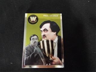 Paul Bearer WW Heritage legend Trading Card