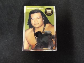 High Chief Peter Maivia WW Heritage legend Card