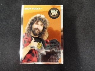 Mick Foley WW Heritage legend Trading Card
