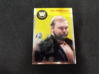 Arn Anderson WW Heritage legend Trading Card